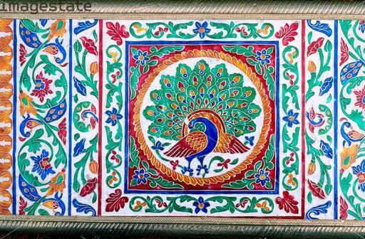 indian enamel panel