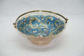 indian enamel bowl