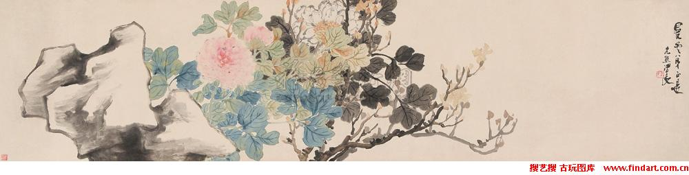 Ren Xiong Qing Dynasty painter painting 1