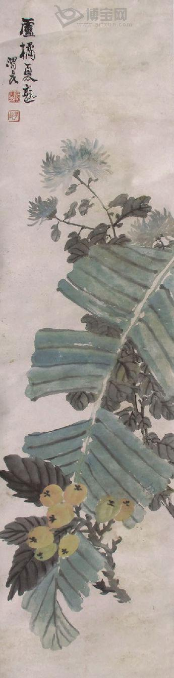 Ren Xiong Qing Dynasty painter painting 2